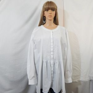 NWOT Woman Within 34/36 4X Top Shirt Blouse NEW